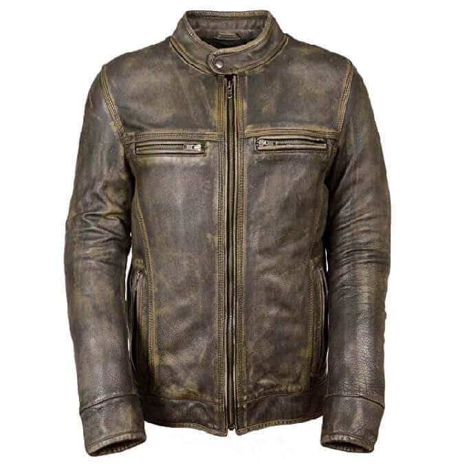 Men Leather Jackets Designs #JAM006