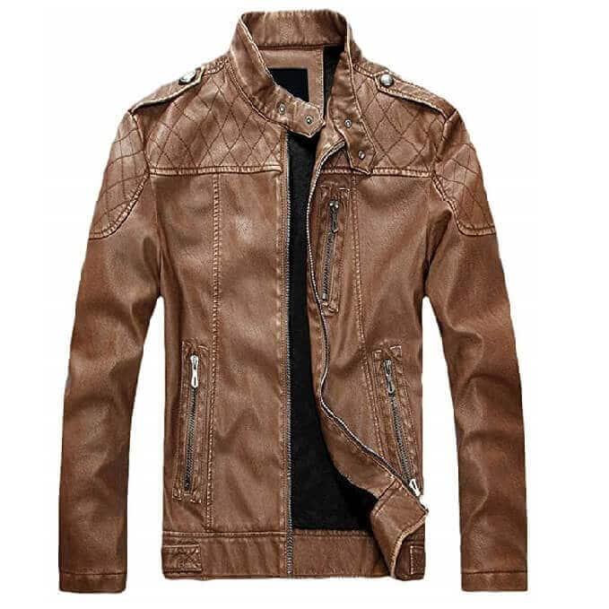 Men Leather Jackets Designs #JAM007