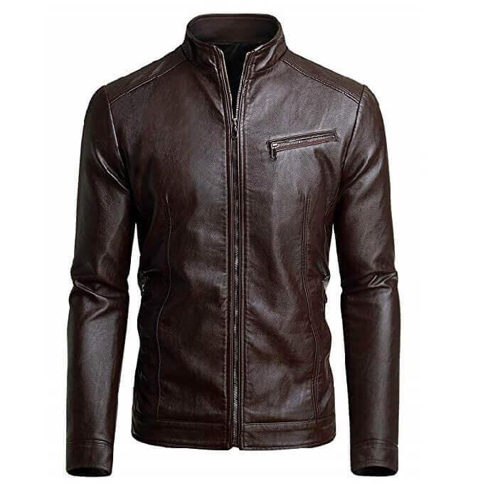 Men Leather Jackets Designs #JAM009