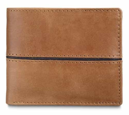 Men Leather Wallets Design #WBF001
