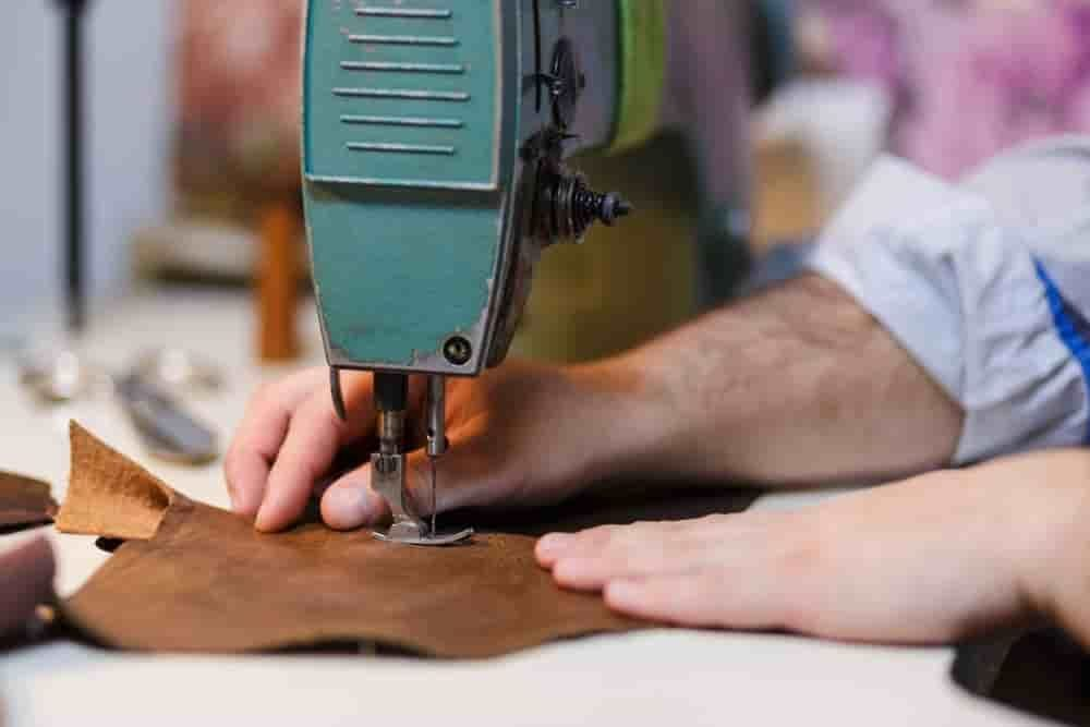 Stitching Leather