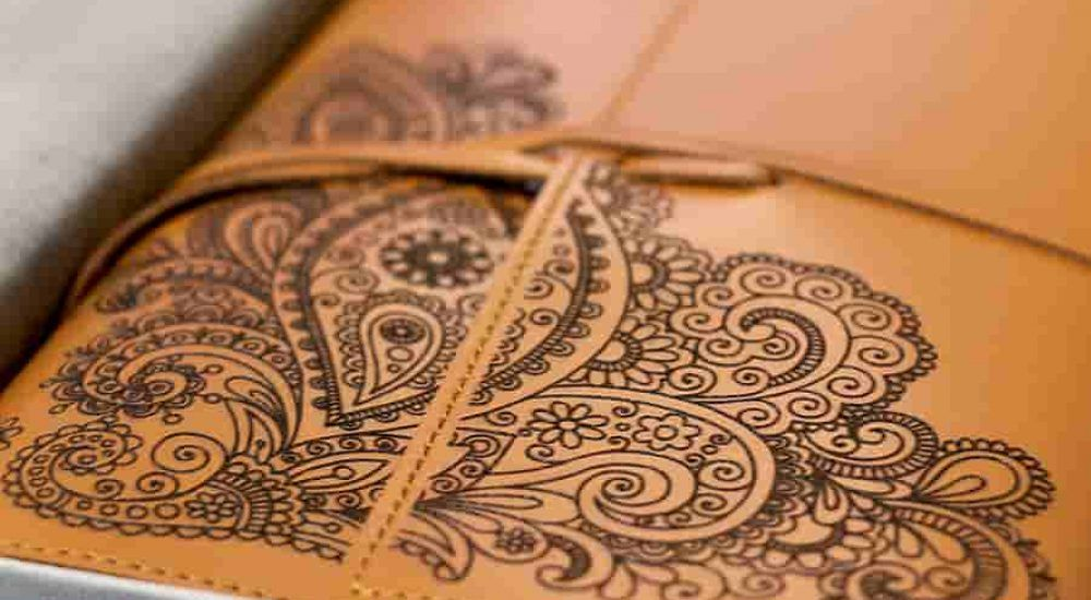 custom engraved leather