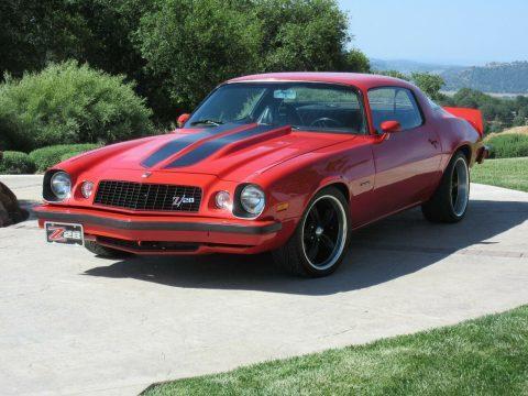 LS2 engine 1975 Chevrolet Camaro Z 28 custom for sale