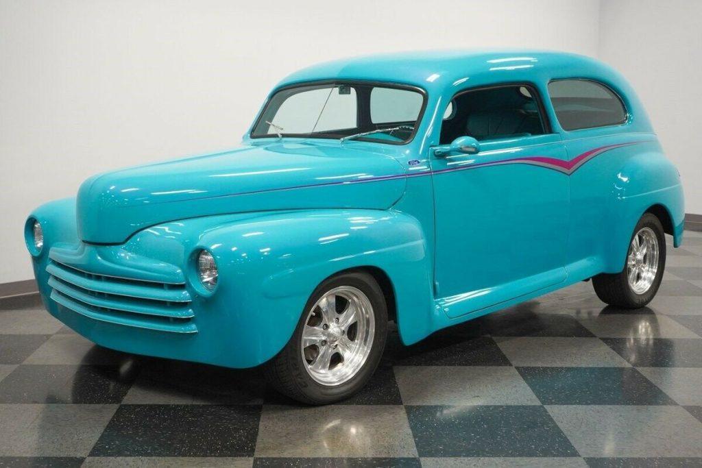 1947 Ford Tudor sedan custom [cool restomod]
