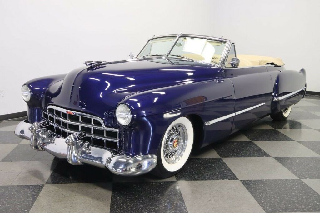 1948 Cadillac Series 62 Convertible Restomod Custom [low miles]