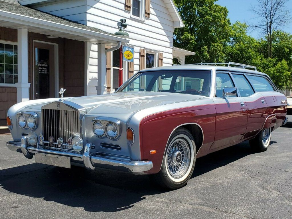 1971 Ford Country Squire Rolls Royce Station Wagon custom [1 of 8 built]