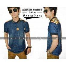 Denim Shirt Polo Variation *Limited Edition