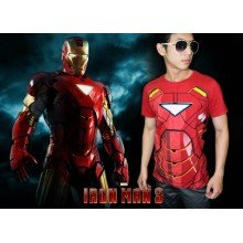 IRON MAN Body - SUPERHERO T-SHIRT