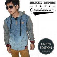 Jacket Hoodie Denim Gradation *Limited Edition