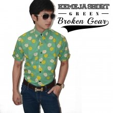 Kemeja Short Broken Gear
