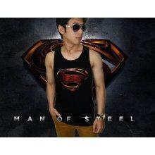 Tank Top Superman Man of Steel - SUPERHERO T-SHIRT