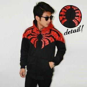 Jacket Webs Spiderman Black