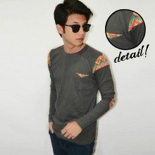 Long Sleeve Arm Patch Tribal Grey[BRANDED]