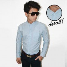 Plain Oxford Shirt Soft Blue