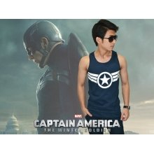 Tank Top Captain America New Costume