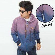 Jacket Purple Blue Ombre