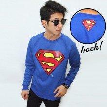 Sweater Superman Blue - Superheroes