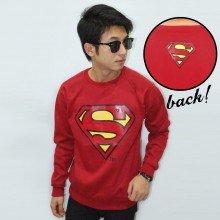 Sweater Superman Maroon - Superheroes