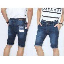 Celana Pendek Jeans Faded Dark Blue