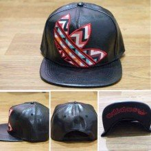Topi Snapback Adidas Vector Shinny Leather Black