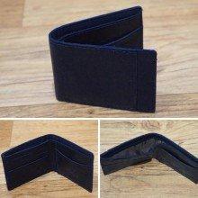 Dompet Leather Side List Dark Navy 8003