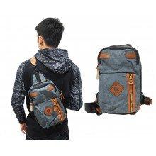 Shoulder Bag Ozuko Basic Square Blue