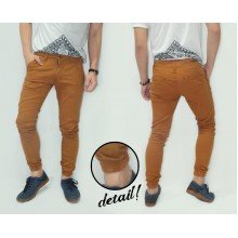 Joggers Pants Chino Gold