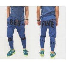 Sweatpants Boy Five 55 Blue