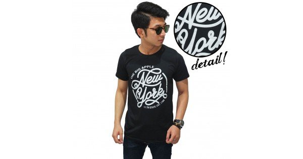 Kaos Big Apple New York Black -