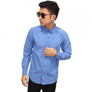 Kemeja Formal Premium Oxford Blue
