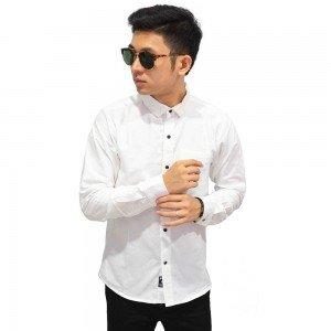 Kemeja Formal Premium Oxford White