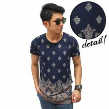 Ethnic Batik Bottom Pattern T-Shirt