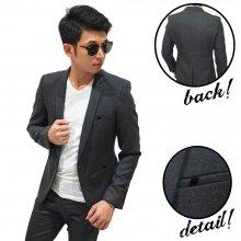 Blazer Executive Classy Wool Dark Grey