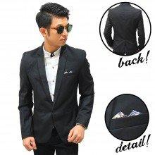 Formal Blazer Handkerchief Motif Batik