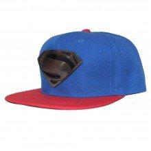 Topi Snapback Superman Paint Splash Blue