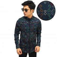 Kemeja Batik Songket Sumatera New Tosca
