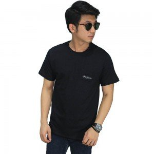 Basic T-Shirt With Pocket Black