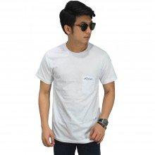 Basic T-Shirt With Pocket White