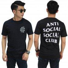 Kaos Anti Social Social Club Black