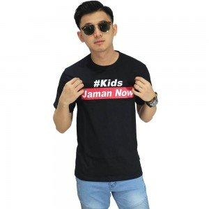 Kaos Kids Jaman Now Black