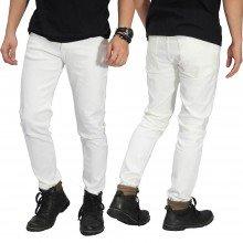 Celana Jeans Skinny Putih Polos