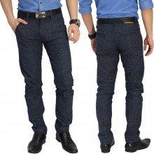 Celana Formal Chino Wool Blue