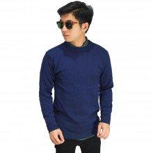 Knit Sweater Basic Navy