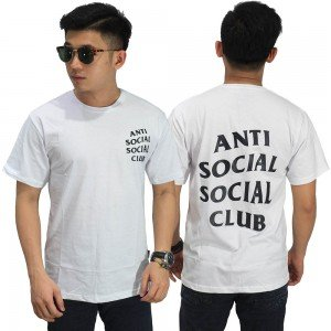 Kaos Anti Social Social Club White