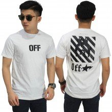 Kaos Off White Star White