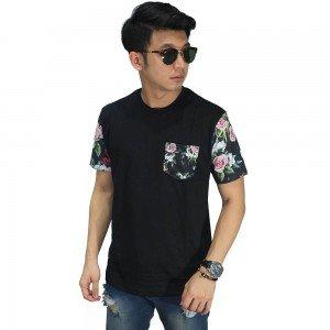 Kaos Sleeve Dark Floral Black