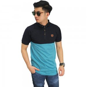 Polo Two Tone Black And Tosca