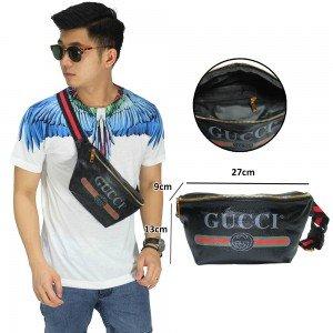 Belt Bag Gucci Leather Black