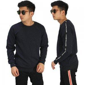 Sweatshirt Track Strap Black