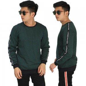Sweatshirt Track Strap Dark Green